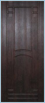 Образей накладки МДФ на металлическую дверь 12