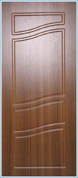 Образей накладки МДФ на металлическую дверь 11