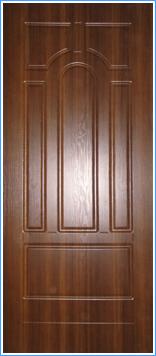 Образей накладки МДФ на металлическую дверь 13