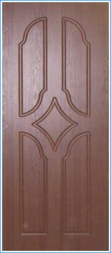 Образей накладки МДФ на металлическую дверь 16