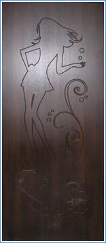 Образей накладки МДФ на металлическую дверь 15