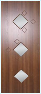 Образей накладки МДФ на металлическую дверь 8