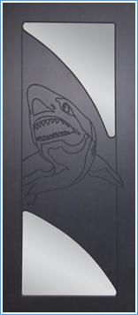 Образей накладки МДФ на металлическую дверь 2