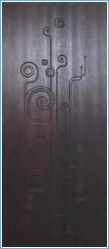 Образей накладки МДФ на металлическую дверь 20