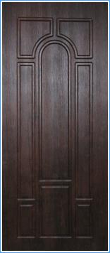 Образей накладки МДФ на металлическую дверь 3