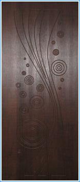 Образей накладки МДФ на металлическую дверь 19