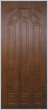 Образей накладки МДФ на металлическую дверь 6