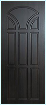 Образей накладки МДФ на металлическую дверь 7