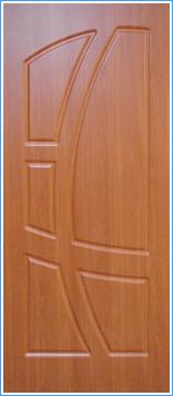 Образей накладки МДФ на металлическую дверь 10
