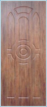 Образей накладки МДФ на металлическую дверь 17