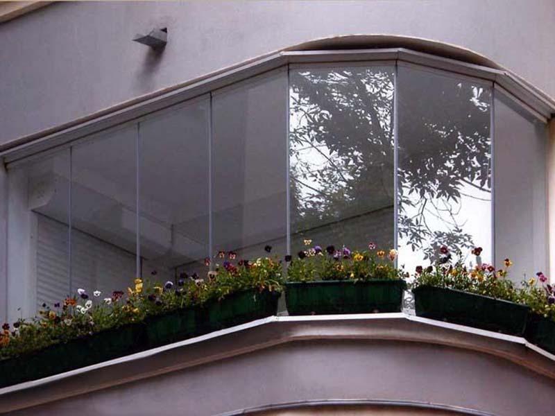 N? остекление поликарбонатом балконов и лоджий любой сложнос.